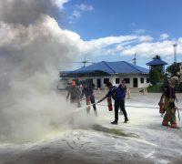 โครงการ การอบรมดับเพลิงขั้นต้น และการซ้อมแผนอพยพหนีไฟ ประจำปี 2559
